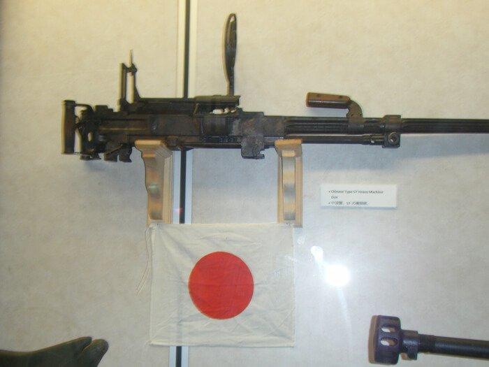 太平洋戦争博物館の展示品