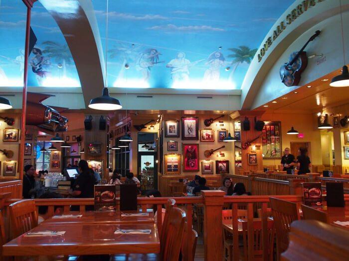 グアムのハードロックカフェ