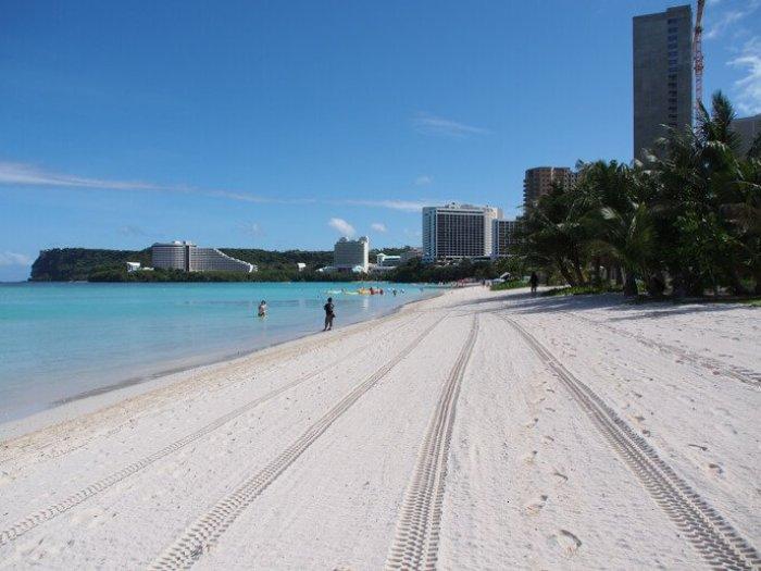 タモンのビーチ