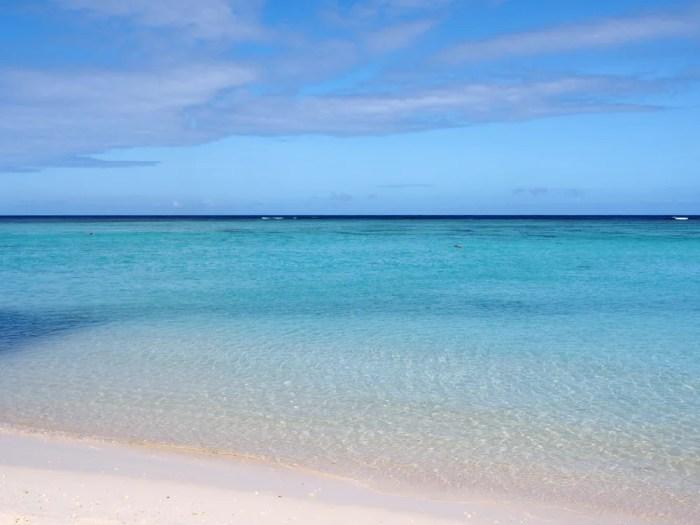 3月のタモンビーチ