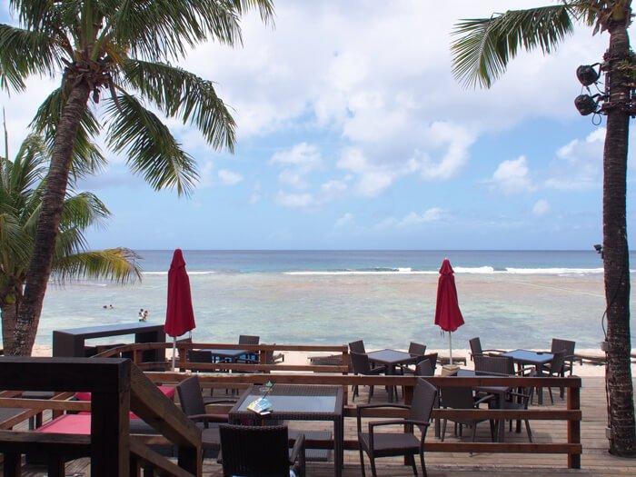 ザ・ビーチからの眺め