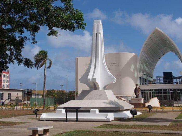 太平洋戦争時の負傷者の慰霊碑