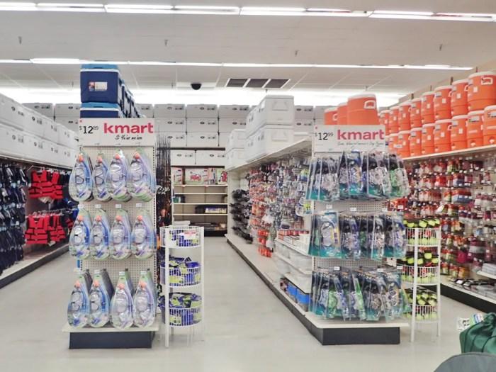Kマートのシュノーケル用品