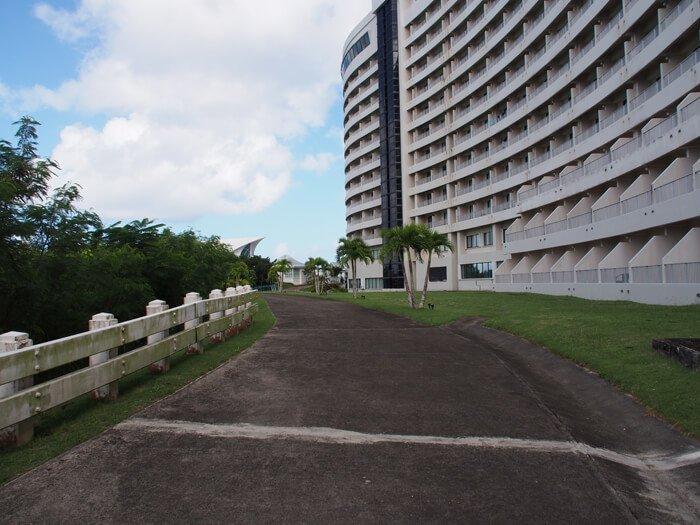 ホテルニッコーグアムのネイチャートレイル
