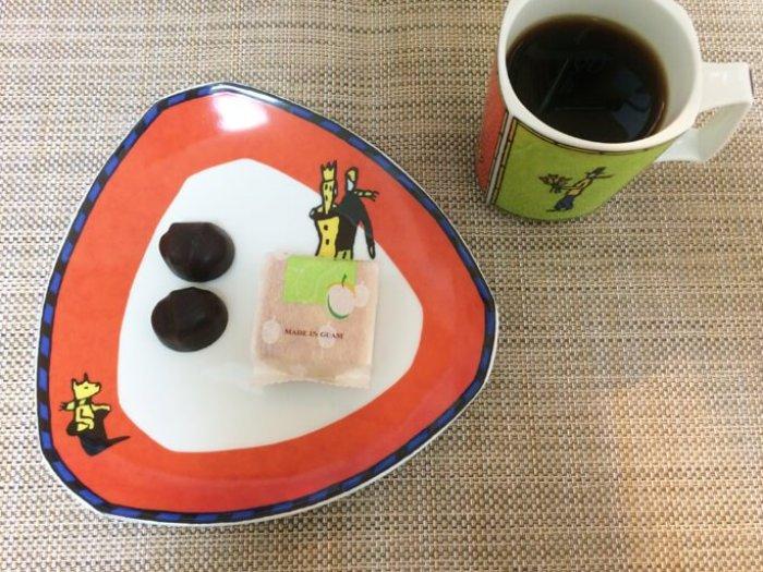 ゴディバコーヒーとお菓子