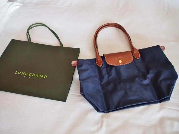 new product 990d5 915ae ロンシャン(Longchamp)~グアムの店舗とバッグの価格について ...