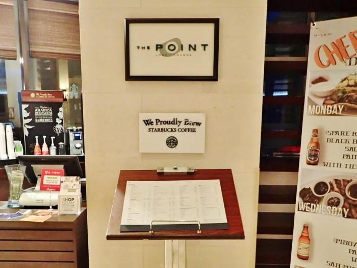 シェラトンのカフェ「ザ・ポイント」