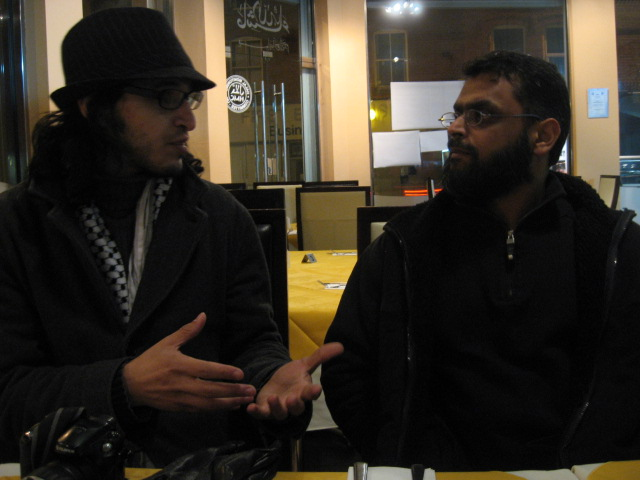 Hicham and Moazzam talk it out