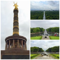 2. From the Brandenburger Tor, the Siegessäule (Victory Column) can be seen, and vice versa. The monument – with a bronze sculpture on the top – commemorates the Prussian victories against Denmark, Austria, as well as France, in chronological order. Trek 285 steps up the column, and visitors will be rewarded with a panoramic view of Berlin.