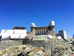 6. Enjoy a panoramic view of the mountains at the summit of the Gornergrat.