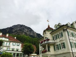 """10. From the village of Hohenschwangau we started our trek up the gorge, a route which the guide described as """"steep and strenuous"""". My parents took half an hour to reach the top."""