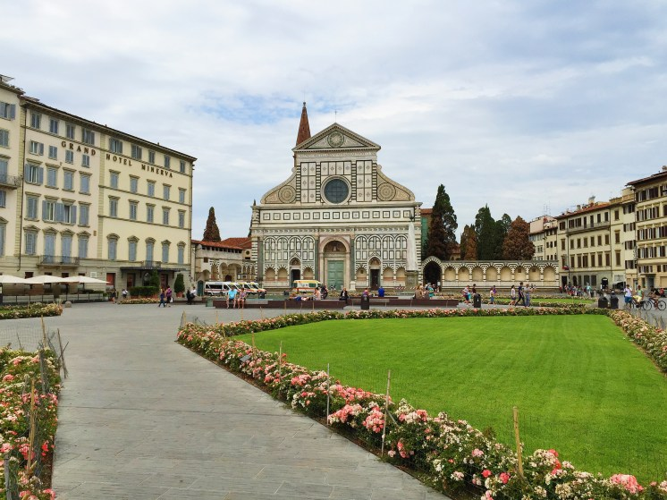 1. The birthplace of the Renaissance, Florence is known for its history, culture, as well as art and architecture, evidenced by the many famous museums and art galleries in the city. Yet as a visitor, the number of heritage sites - and piazzas (public squares) - would also stand out. Locals would speak of the many stories associated with the piazzas and well-known personalities, and in the photograph is the Basilica di Santa Maria Novella (Church of Santa Maria Novella), the principal Dominican church of Florence.