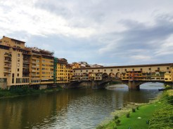 8. Built over the Arno river - which used to flood Florence in historical times - the Ponte Vecchio (Old Bridge) has been rebuilt multiple times. The main river in Pisa is also the Arno river.