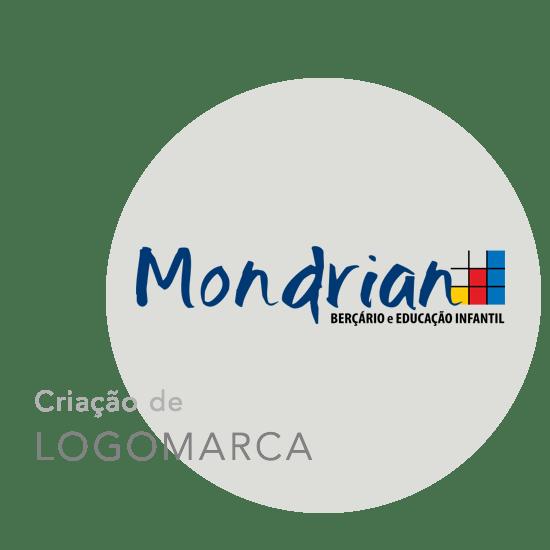 Criação da logomarca Mondrian
