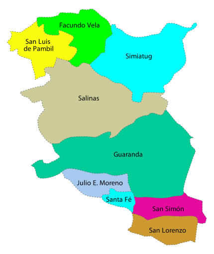 División Política Bolívar