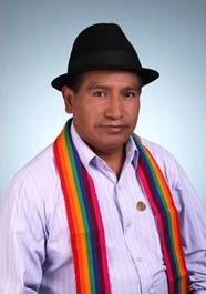José Yanchaliquín, Vicealcalde de Guaranda
