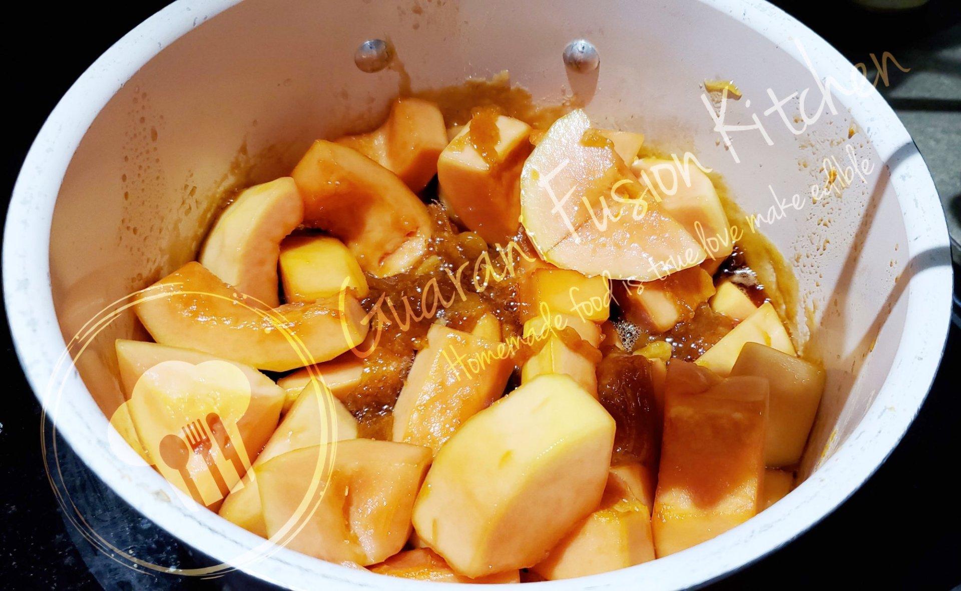 """Delicious and Irresistible Dulce de Mamón """" Paraguayan Papaya dessert """""""
