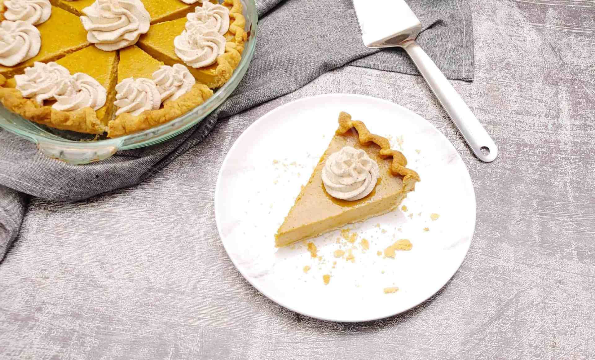 Ultimate Pumpkin Pie with Hennessy Whipped Cream