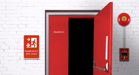 Pintu Evakuasi Kebakaran GuardALL