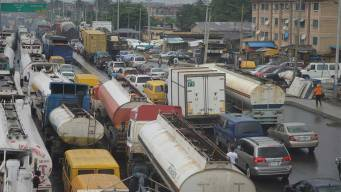 Image result for heavy duty vehicles on Lagos-Ibadan expressway