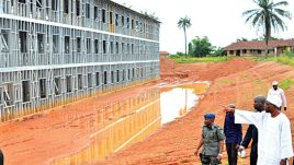 Image result for FG's National Housing Site in Osogbo to be completed by Dec. - Official