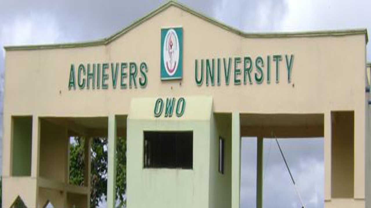 OWO - Achiever's University: 22 students bag First Class
