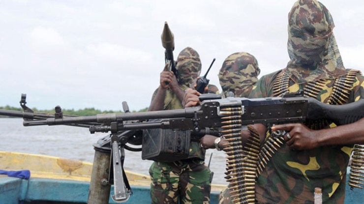 Image result for niger delta militants getty  Timi Frank Accuses ministers in Buhari's government, 2 former governors of plot to bomb INEC headquarters Avengers