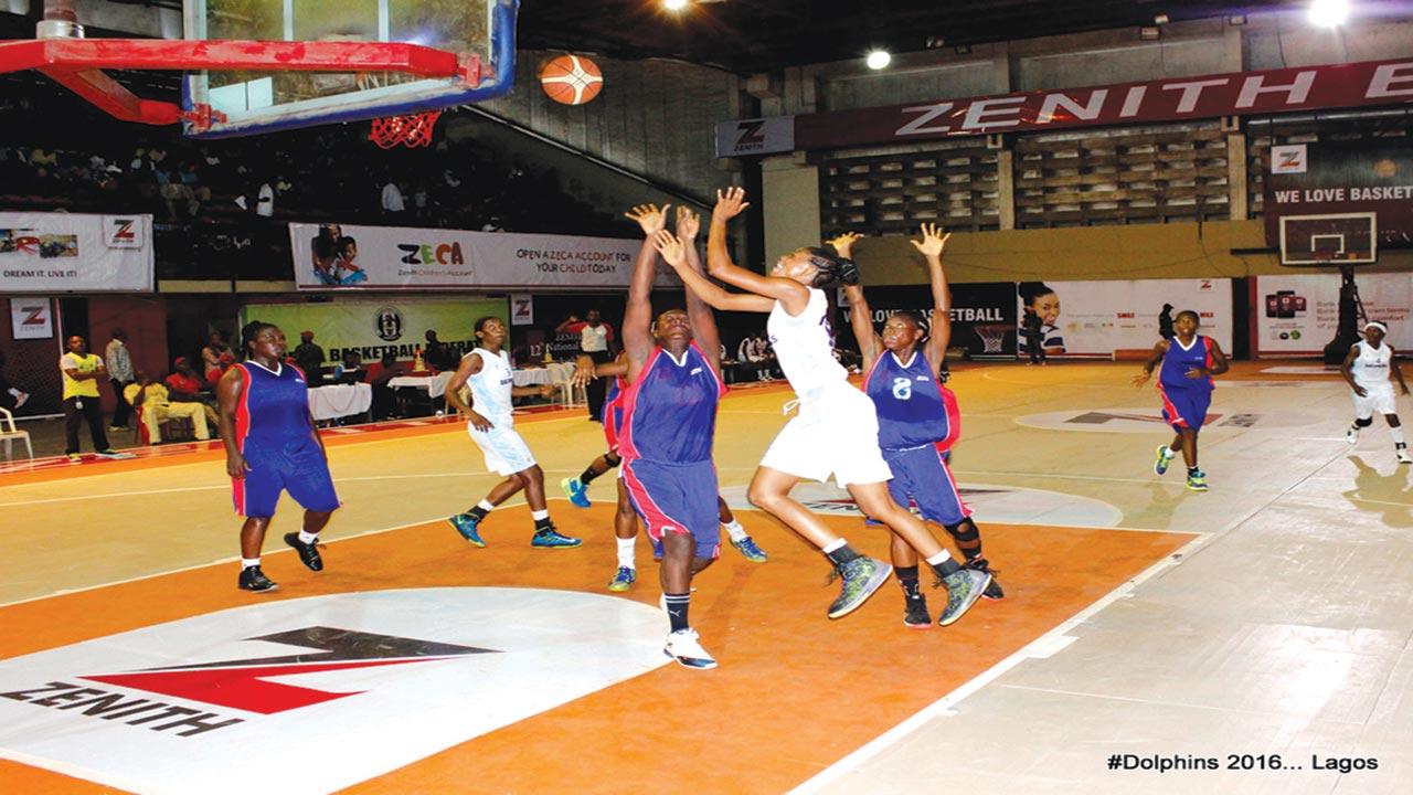 Dolphins P.62 12 5 2016    - Quarter-finals action heightens play at 2019 Zenith Bank Women's Basketball League