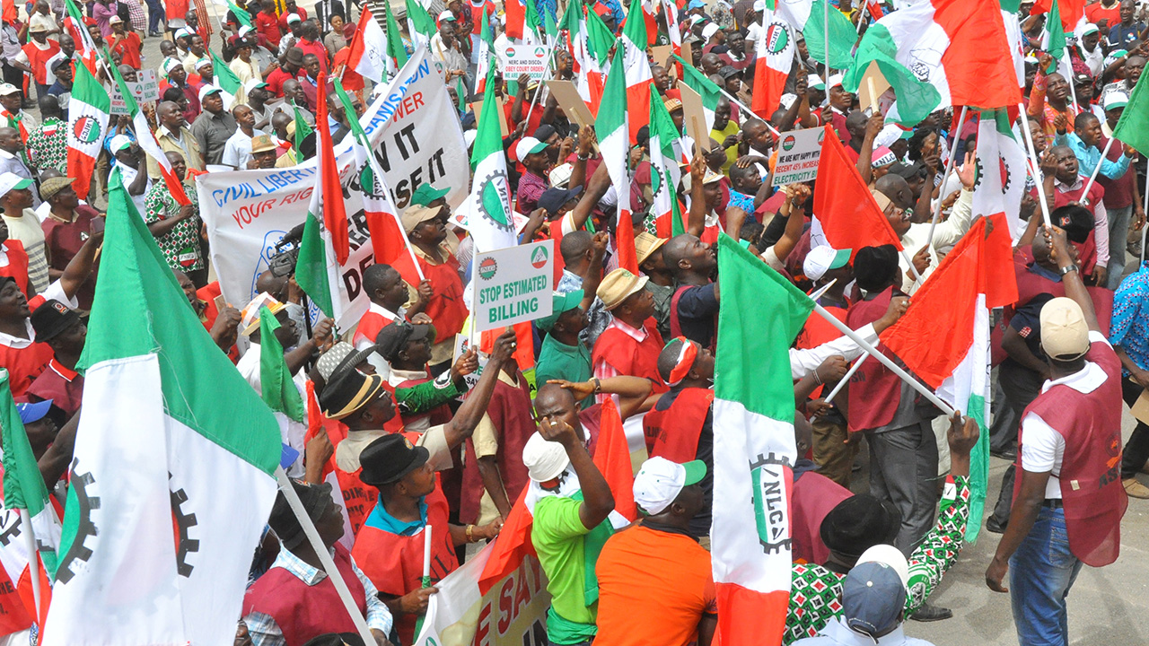 NLC 9 - Pay our members' outstanding salaries, allowances—TUC pleads to Bello