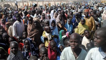 Image result for Borno IDPs Camp people dies, 200 admitted