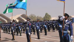 Image result for Air Marshal Idi Amin takes charge of Enugu Air Command