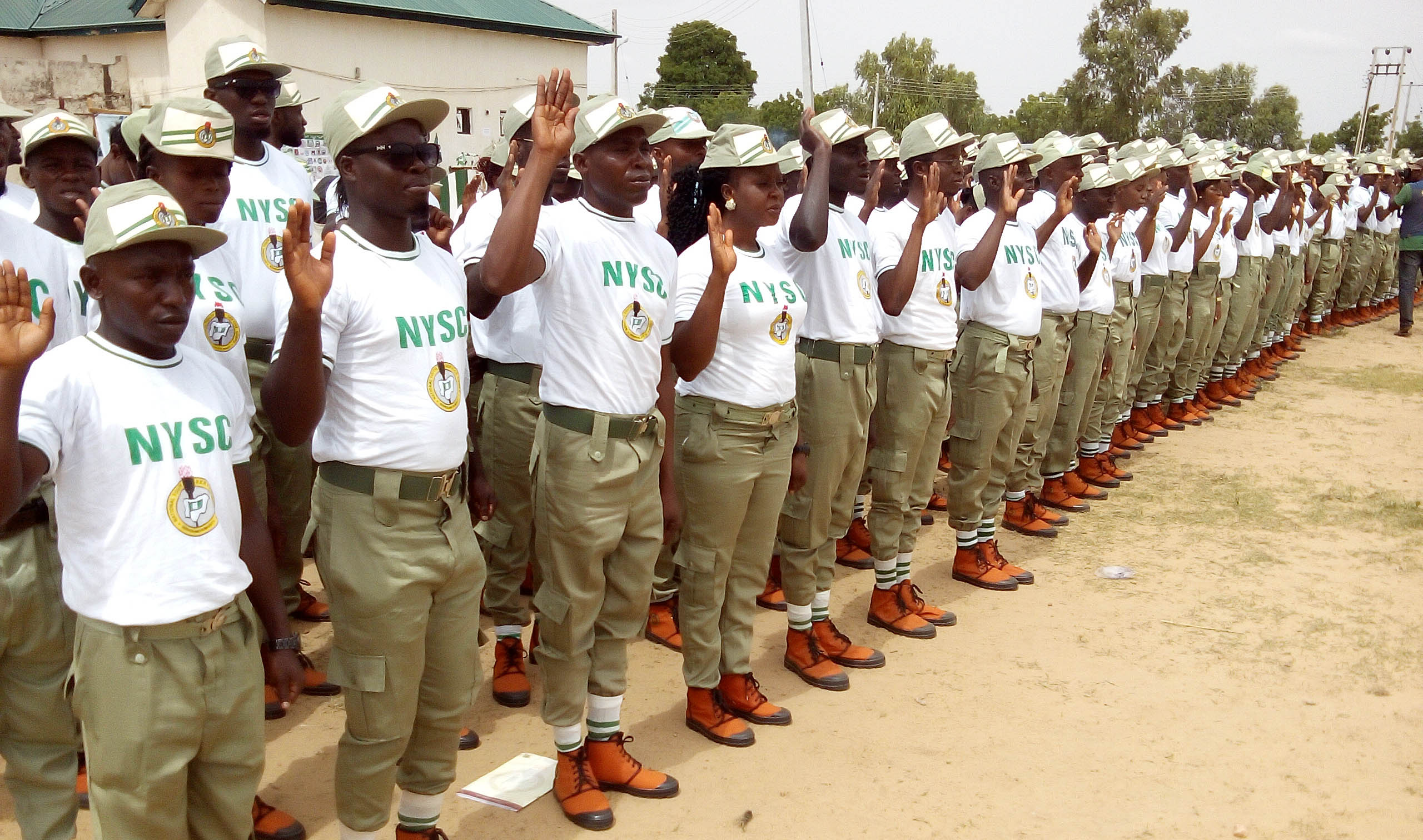 Corps Member Donates 688 Sandals To Primary School Pupils In Lokoja