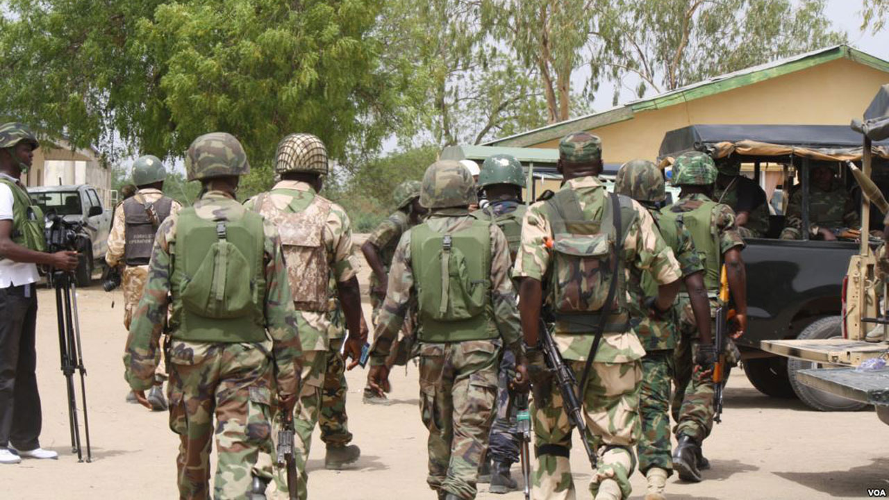 Maj. Gen. Augustine Agundu, The Immediate Past Commander Of Special Task Force, Operation Safe Haven (opsh) Maintaining Peace In Plateau And Environs, Has Charged Officers And Men Of The Task Force T