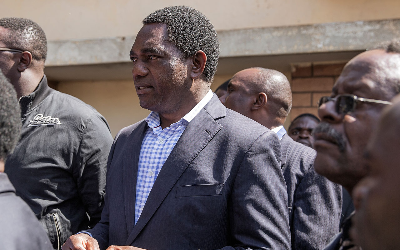 Hakainde Hichilema 1 - Zambian govt. condemns increased attacks on albinos