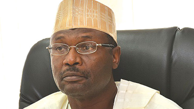 Image result for Chairman, Independent National Electoral Commission, Prof. Mahmood Yakubu
