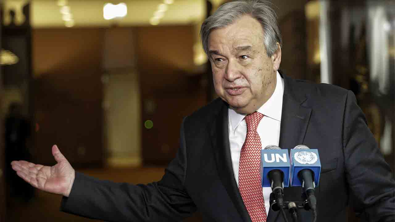 Secretary General Antonio Guterres New York Chief Assembly