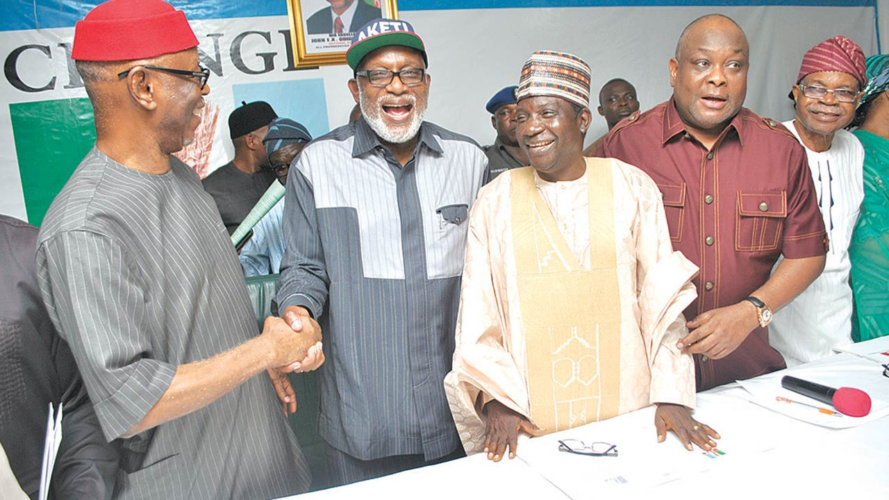 Wilson APC 14 10 16 - Governorship elections: APC inaugurates National Campaign Council for Kogi,