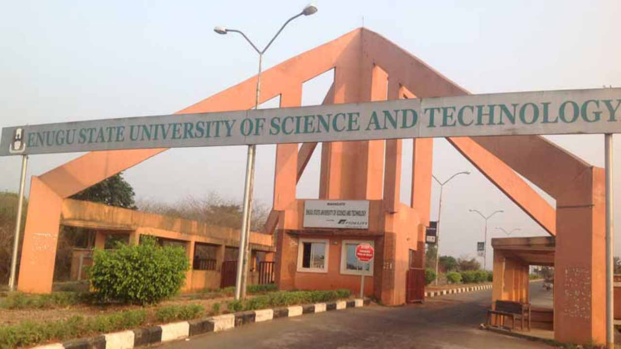 The Enugu State University Of Science And Technology (esut) Has Commenced Production Of Hand Sanitizers To Assist The Federal And State Governments In The Fight Against Coronavirus (covid 19). The V