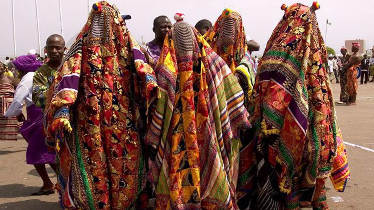 Egungun festival in Nigeria