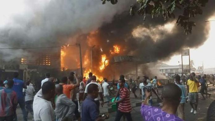 Image result for calabar tank farm fire