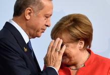 Turkish German Kurdish President Recep Tayyip Erdogan Edirne