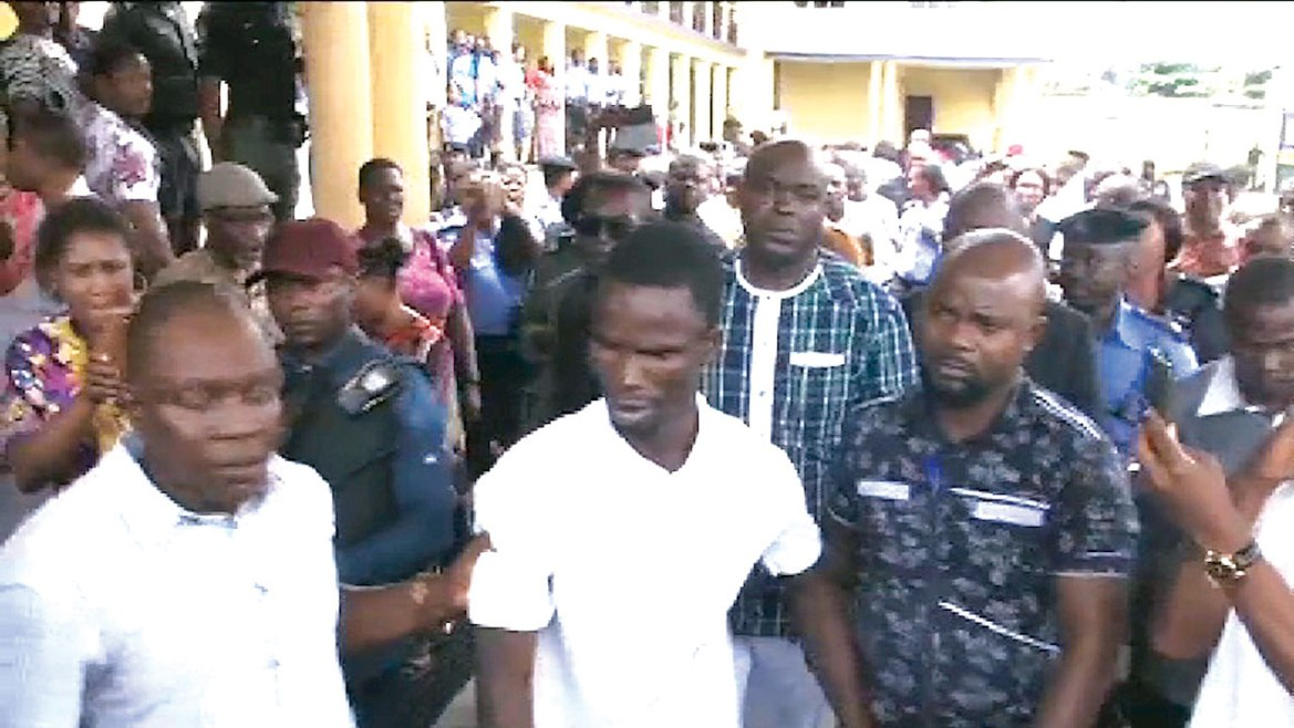 The Chief Magistrate's Court sitting in Rivers State has ordered Dike's remand in prison, adjourns indefinitely