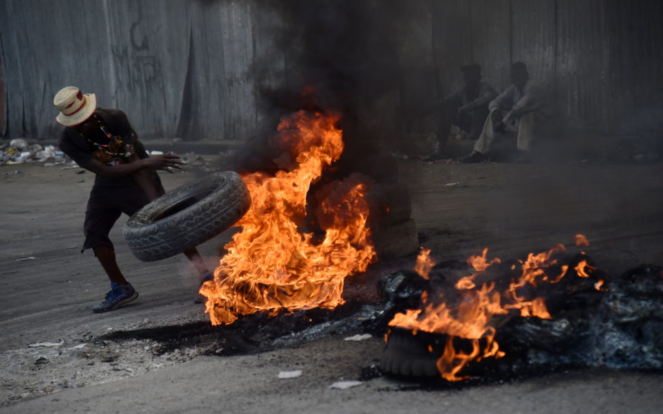 Haiti 957x598 - Violence erupts in Haiti over national budget