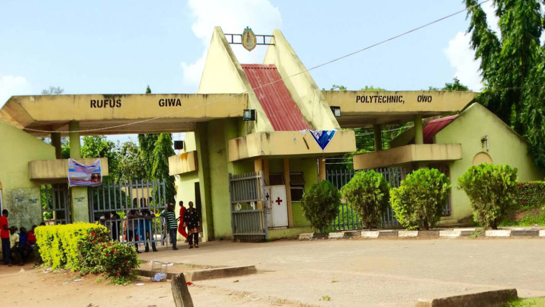 Owo Poly Gets Substantive Rector