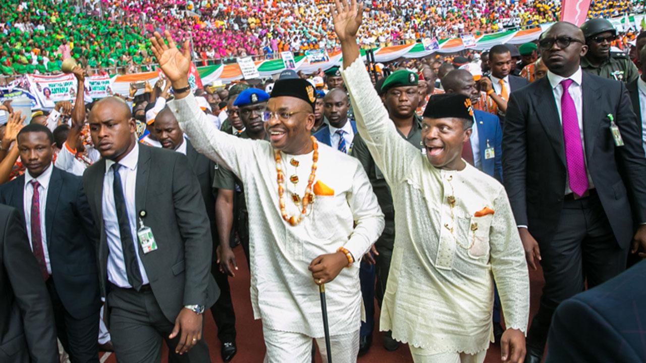 PHOTONEWS: Vice President Osinbajo visits Akwa Ibom