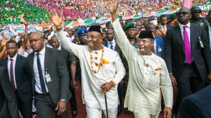 Image result for Osinbajo commissions three projects in Akwa Ibom