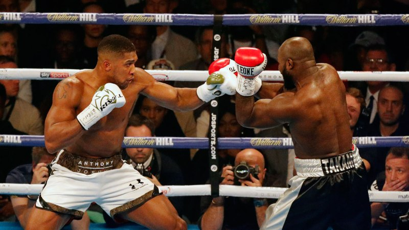 Anthony Joshua Retains World Heavyweight Titles