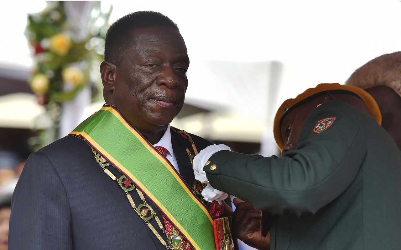 Zimbabwe President Mnangagwa Pleads For Sanctions Removal At Un