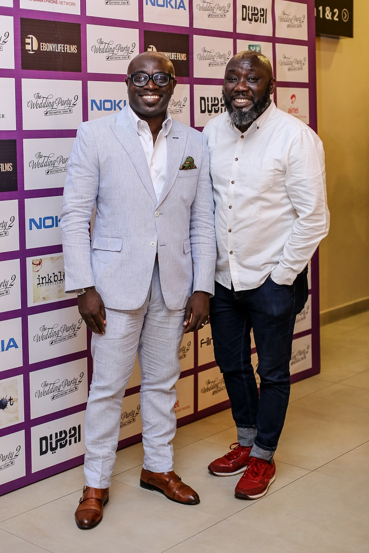 FAB  Abiola1 - Highlights From The Early Screening Of The Wedding Party 2