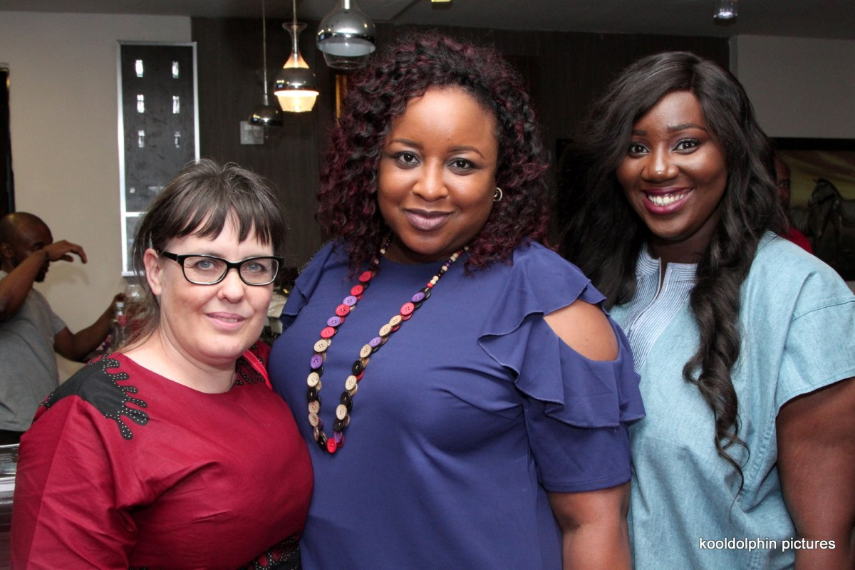 Heidi Uys Pris Nzimiro Nwanah Nicole Ofoegbu1 - Highlights From The Early Screening Of The Wedding Party 2